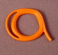 Playmobil Orange Rolled Up Coil Of Rope Or Whip, Coiled Up Lasso, 3036 3120 3626 3674 3749 3805 4074