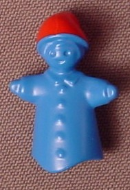 Playmobil Blue Hand Puppet Child's Toy With Red Hat & Hand Grip, 4664, 30 63 3832