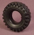 Playmobil Black Rubber Thick Jeep Tire, 3140 3434, 30 65 3530