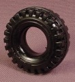 Playmobil Black Rubber Tires With Deep Treads & A Shiny Surface, 4495 5149 5296 6132 6877 7439