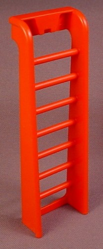 Playmobil Red Side Of Swing Set With 7 Round Ladder Rungs, 3223 3552, Playground
