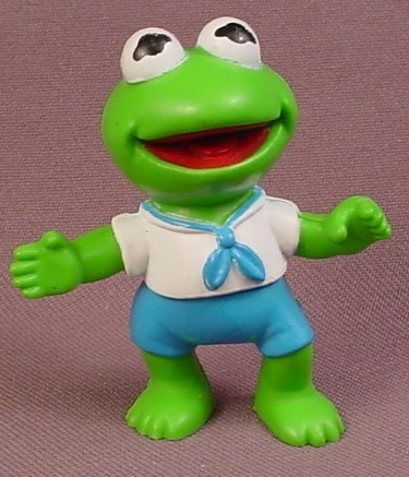 Muppets Baby Kermit The Frog PVC Figure With Arms Spread 24b469f541a