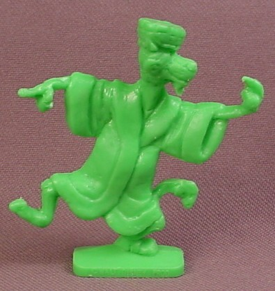 Disney Robin Hood King John Premium Figure, 2 1/4 Inches Tall, Came In Bags Of Flour