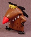 Daggett The Angry Beavers TV Show Cartoon PVC Figure, 1 1/2 Inches Tall, Daget, 2001