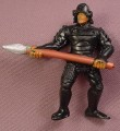 Guts G.U.T.S. Akido Force Tiger Tooth Samurai PVC Figure, 2 1/2 Inches Tall, 1986 Mattel
