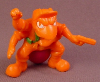 Army Ants Grease Pit PVC Figure, Assault Team Series, 2 1/8 Inches, 1987 Hasbro