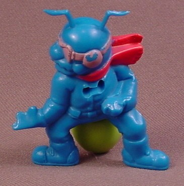 Army Ants Tail Spin PVC Figure, General McAnther's Special Forces Team Series, 1987 Hasbro