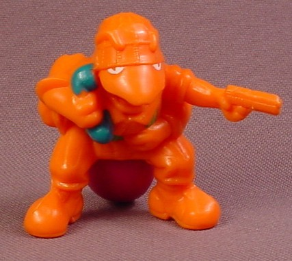 Army Ants Mega-Hurtz PVC Figure Without Backpack, Bazooka Team, 1987 Hasbro