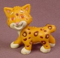Dora The Explorer Baby Jaguar PVC Figure, 1 1/2 Inches Tall, Go Diego, 2003 Mattel Viacom