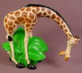 Madagascar Movie Melman The Giraffe PVC Figure, 3 Inches Tall, Decopac