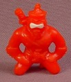 Ninja Mites N.I.N.J.A. #44 PVC Figure, About 1 3/8 Inches Tall, 1986 Panosh Place