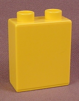 Lego Duplo 4066 Yellow 1X2X2 Brick