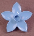 Lego Duplo 6510 Light Blue Flower With 5 Petals, 3612 6152, Disney Snow White, Wildlife