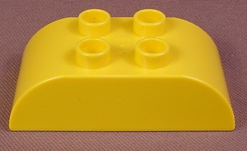 Lego Duplo 98223 Yellow 2X4 Brick With Both Ends Curved, 6133 61562, Disney Snow White