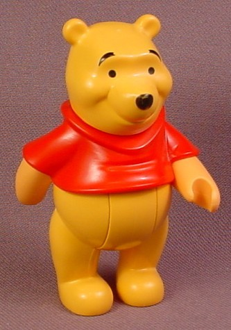 Lego Duplo 31267 Winnie The Pooh Figure, Bends At The Waist, 3 1/4 Inches Tall
