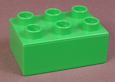 Lego Duplo 3002 Bright Green 2X3 Brick