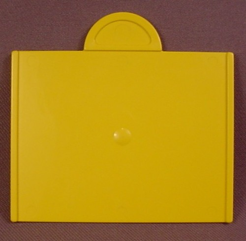 Lego Duplo 31026 Yellow Sliding Door For The Bottom Of A Train Cargo Hopper, 65766