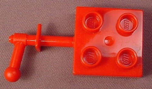 Lego Duplo 44699 Red 2X2 Plate With A Handle, 4776, Dragon Tower, Castle, Knights