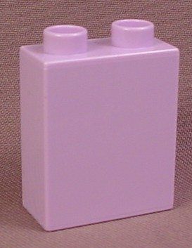 Lego Duplo 4066 Light Lilac Or Lavender Purple 1X2X2 Brick, 6152 Disney Snow White Cottage