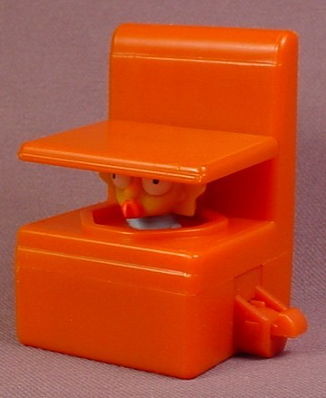 Burger King 2008 The Simpsons Couch With Lisa Inside, Couch-A-Bunga Series