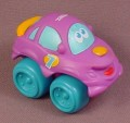 Playskool Tonka Wheel Pals Purple #7 Racer Race Car With Blue Wheels, 2 1/2 Inches Long