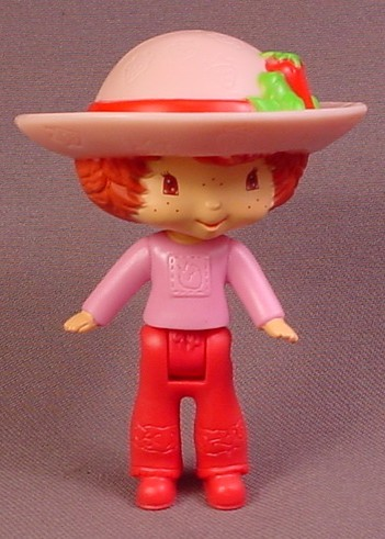McDonalds 2006 Strawberry Shortcake Doll Toy, 3 1/4 Inches Tall, Scented