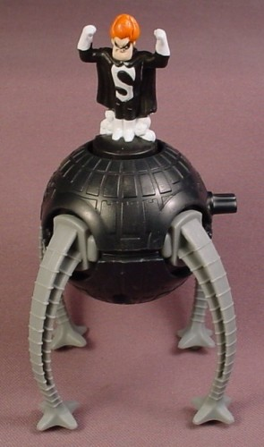 Disney The Incredibles Wind Up Syndrome With Robot Omnidroid, Wind It Up And It Vibrates