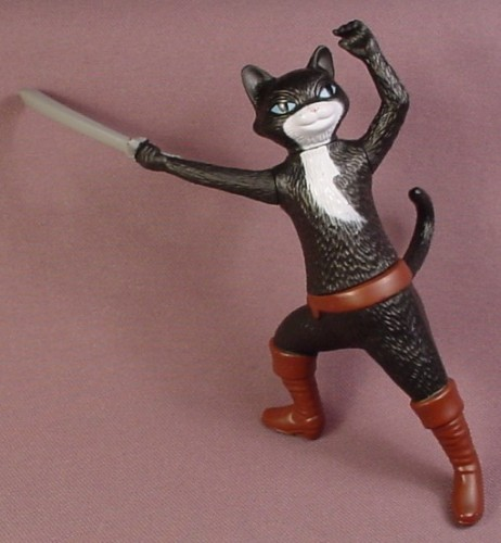 McDonalds 2011 Puss In Boots Movie Kitty Soft Paws Figure, 4 1/2 Inches Tall