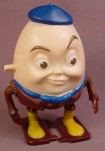 Puss In Boots Movie Wind Up Walking Young Humpty Dumpty Toy, 3 1/2 Inches Tall, Wind-Up Figure, 2001