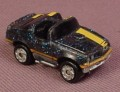Micro Machines 1970's Pontiac Trans Am With Metalflake Blue Paint, T Top Roof, Galoob