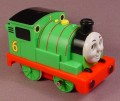 Thomas The Tank Engine 3 5/8 Inch Long Pullback Percy Engine, 2004 Ertl