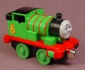 Thomas The Tank Engine #6 Percy Engine, Take N Play, Take Along, 2009 Fisher Price, Mattel