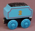Thomas The Tank Engine Wooden Railway #2 Coal Tender Car For Edward, Edward's Tender