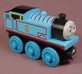 Thomas The Tank Engine Wooden Railway Thomas #1 Engine With Red Stripes On Boiler, 2003