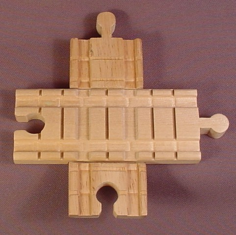 Thomas & Friends Wooden Railway Clickity Clack 2 Piece Intersection Track  Crossing,