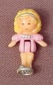 Polly Pocket 1989 Polly Doll Figure, From Partytime Surprise Set #940451 or #10639