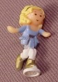 Polly Pocket 1989 Polly Doll Figure, From Skating Party Set #950881 or #11974, Ice Skating Set