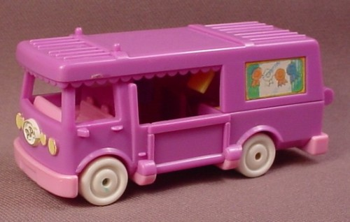 Polly Pocket 1994 Stable On The Go RV #11970, Out 'N About
