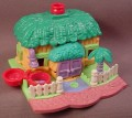 Polly Pocket 1994 Elephant House Animal Wonderland #951671 or #13858, Jumbo's Lodge