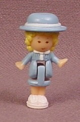 Polly Pocket 1990 Polly Doll Figure, From Polly's School #920461 or #6200