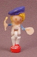 Polly Pocket 1991 Polly Doll Figure Color Variation Without Paint Splotches Or Paint