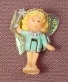 Polly Pocket 1992 Fairy Polly Doll Figure With Fabric Wings, From Fairy Wishing World Set