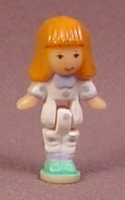 Polly Pocket 1993 Midge or Alice Doll Figure, From Cozy Cottage Pollyville #940311