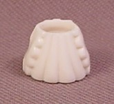Polly Pocket 1993 Removable White Wedding Gown or Dress, From Wedding Chapel #940301