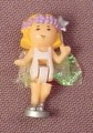 Polly Pocket 1993 Fairy Ella Doll Figure With Cloth Wings, From Fairylight Wonderland
