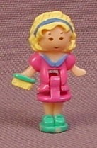 Polly Pocket 1993 Polly Doll Figure, From Precious Puppies Set #940171 or #10630