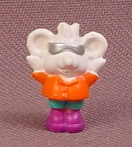 Polly Pocket 1994 Madison Mouse Figure, From Animal Wonderland Elephant House #951671