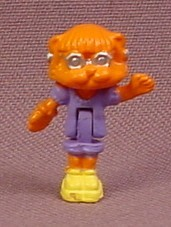 Polly Pocket 1994 Kami Kitty Cat Figure, From Animal Wonderland Light Up Kitty House