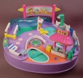 Polly Pocket 1997 Pool Party #980591 or #18677, Magical Swimabout Polly