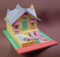 Polly Pocket 1993 Pollyville Beach House, #940251 or #11201, Polly's Holiday Cottage